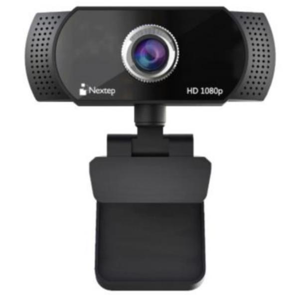 Cámara Web Nextep 1080P HD USB Micrófono Integrado