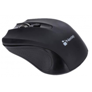 Mouse Nextep Inalámbrico USB Color Negro 1600 dpi