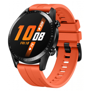 "Watch Huawei GT 2 Sport Pantalla AMOLED 1.39"" Táctil Color Naranja Compatible Android-IOS"