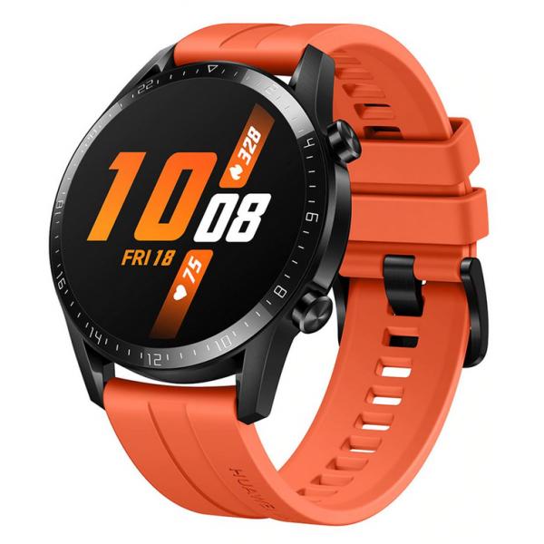 "Watch Huawei GT 2 Sport Pantalla AMOLED 1.39"" Táctil Color Naranja Compatible Android-IOS"